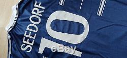 Maglia Real madrid Seedorf 1998-99 Adidas football Teka vintage home jersey