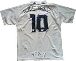 Maglia calcio vintage Real Madrid LAUDRUP 1995 1996 camiseta maglia KELME jersey