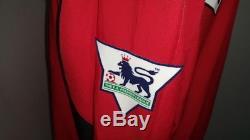 Manchester Shirt Jersey Beckham England Real Madrid Milan La Galaxy XL