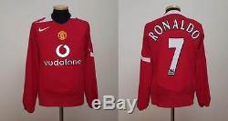 Manchester Shirt Jersey Ronaldo Real Madrid Sporting Lisbon Portugal England S