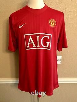 Manchester United Ronaldo Real Madrid Player Issue Shirt Nike Football Jersey