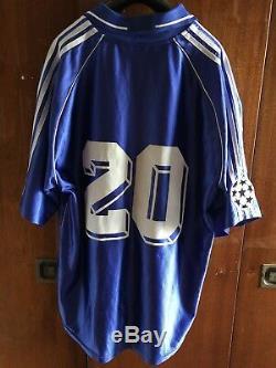 Match Worn T-shirt Shevchenko Sezon Jersey Dynamo Kiev FC Dynamo Kiev 2000