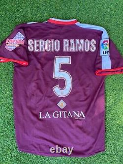 Match worn Sevilla Sergio Ramos shirt jersey camiseta magila Real Madrid