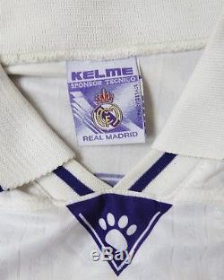 Match worn issue Real Madrid 1996-97 LFP home jersey shirt Clarence Seedorf #10
