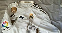 Match worn shirt Eden HAZARD Real Madrid maillot porté used jersey liga 19/20