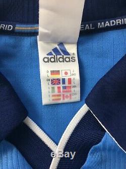 McMANAMAN #8 Real Madrid Third Football Shirt Jersey 1999/2000 (L)