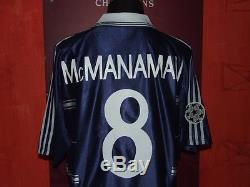McMANAMAN REAL MADRID 1998/99 MAGLIA SHIRT CALCIO FOOTBALL MAILLOT JERSEY SOCCER