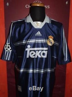 Mijatovic Real Madrid 1998-99 Maglia Shirt Calcio Football Maillot Jersey Soccer