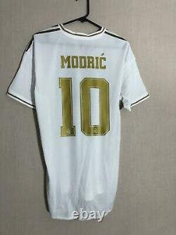 Modric #10 Real Madrid 2019/20 Large Authentic Home Shirt Jersey Adidas BNWT