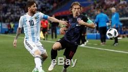 Modric Croatia World Cup 2018 shirt vs Argentina Real Madrid nike jersey WC18