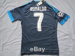 NEW Real Madrid soccer jersey, shorts, socks RONALDO Medium navy blue 3rd USseller