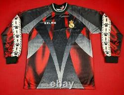 NWT 1996-97 Real Madrid Goalkeeper BUYO Kelme Shirt Jersey kit Camiseta
