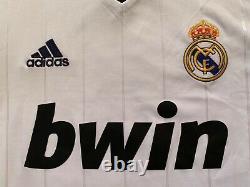 New 2012/13 Adidas Real Madrid Long Sleeve Jersey S shirt ronaldo sergio ramos