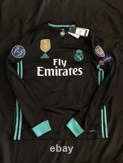 Nwt Cristiano Ronaldo 2016 Fifa Long Sleeve Real Madrid Adidas Jersey Mens M