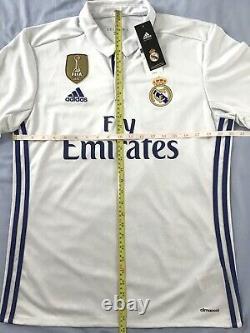 Official Real Madrid Football Shirt (NEW) Toni Kroos 2016/17 Adidas jersey