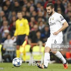 Orig. MATCHWORN ADIDAS Boots NACHO #6 Real Madrid no Jersey Trikot Fussballschuh