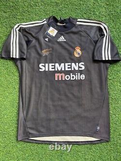 Original new real madrid 2002- 2003 goalkeeper shirt jersey camiseta magila