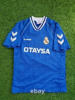 Original real madrid 1991 1992 shirt jersey camiseta magila otaysa