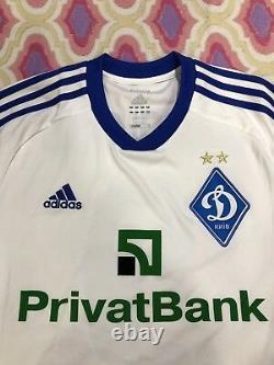 Porty match worn Vintage football Shirt Original Adidas Jersey FC Dynamo Kiev
