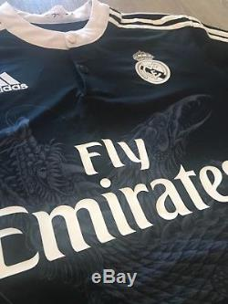 RARE Real Madrid 14/15 Third Jersey Adidas Size L Ronaldo Bale
