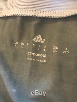 RARE Real Madrid 14/15 Third Jersey Adidas Size L Ronaldo Bale