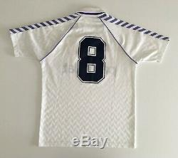 REAL MADRID 1986/88 Michel Home Football Shirt S Hummel Vintage Soccer Jersey