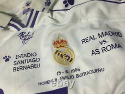 REAL MADRID 1995 BUTRAGUEÑO Lted. EDITION FAREWELL JERSEY