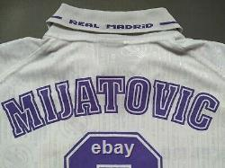 REAL MADRID 1996/1997 Jersey PREDRAG MIJATOVIC Shirt Kelme Vintage Camiseta L