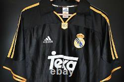 REAL MADRID 1998-2000 ORIGINAL JERSEY Size M (VERY GOOD)