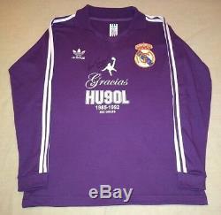 REAL MADRID 90s Retro Jersey signed autographed HUGO SANCHEZ Proof MEXICO Legend
