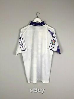 REAL MADRID 96/97 Third Football Shirt (L) Soccer Jersey Kelme