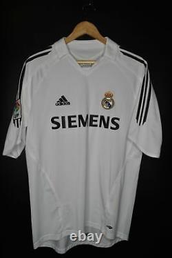 REAL MADRID BECKHAM 2005-2006 ORIGINAL JERSEY Size M (VERY GOOD)