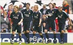 REAL MADRID away 2002/03 shirt RONALDO #11 Barcelona-AC Milan-Brazil-Jersey