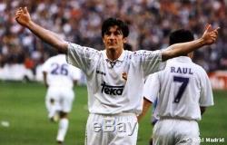 REAL MADRID camiseta Kelme 1996 1997 shirt trikot maillot jersey GUTI #23 96-97