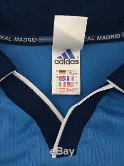 REDONDO #6 Real Madrid Third Football Shirt Jersey 1999/2000 (L)