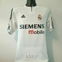 RONALDO 9 Real Madrid Shirt Medium 2003/2004 Adidas Jersey
