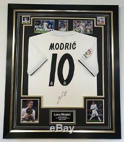 Rare Luka Modric Signed Real Madrid Shirt Autographed Jersey AFTAL DEALER CERT