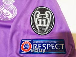 Rare! Real Madrid 1617 UCL Final Jersey Shirt Signed By Crisitano Ronaldo + COA