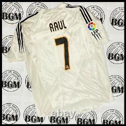 Raul Match Worn Real Madrid Jersey 2004-05 Shirt MatchWorn Adidas Ronaldo Spain