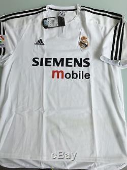 Raul Real Madrid 2002/03 Jersey Camiseta Shirt Zidane Beckham Bale Ramos Hierro