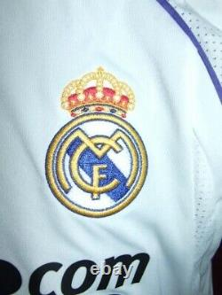 Raul Real Madrid 2007/2008 Maglia Shirt Calcio Football Maillot Jersey Camiseta
