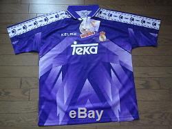 Real Madrid 100% Original Jersey Shirt 1995/96 Away Kelme BNWT NEW Rare