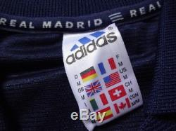 Real Madrid 100% Original Jersey Shirt 1998/99 Away M Still BNWT Extremely Rare