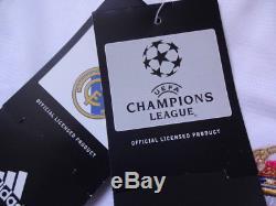 Real Madrid 100% Original Jersey Shirt 2003/04 CL Home M Still BNWT NEW LS Rare