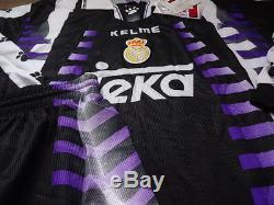 Real Madrid 100% Original Jersey Shorts Socks Set 1997/98 3rd BNWT NEW Rare