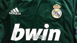 Real Madrid 12-13 ADIDAS Formotion UCL Away Match Player-issue Shirt DI MARIA