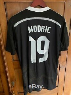 Real Madrid 14/15 Luka Modric #19 Yoshi Yamamoto XL Jersey Original
