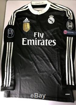 Real Madrid 14/15 Yamamoto Dragon Match Unworn Player Issue