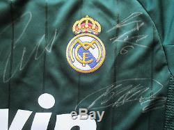 Real Madrid 14 Hand Signed 2012-13 League Away Shirt Jersey -ronaldo-photo Proof
