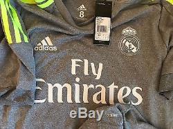 Real Madrid 15/16 Player Issue Away Size 8 Adizero formotion no match worn ramos